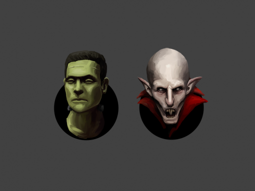 Monster Icon Sketches
