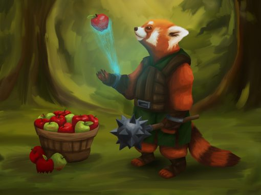 Red Panda Concept Art